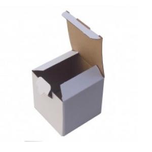 Küçük Beyaz Karton  Kutu 10,5x10,5x10,5cm