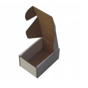 Kilitli Beyaz Kutu Koli 10x7x4,5cm