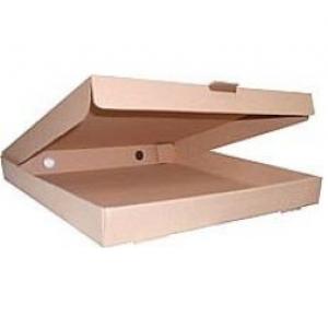 Küçük Boy Pizza Kutusu 23,5x23,5x3cm