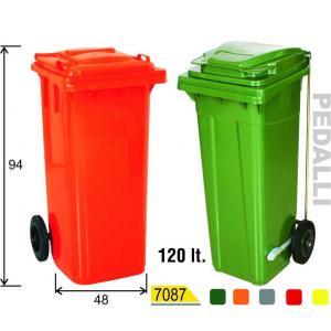 120 Lt Plastik Çöp Konteyner